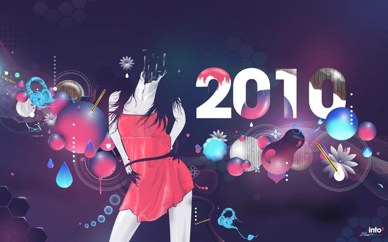 设计 插画/2010 数字图片2010 新年设计壁纸