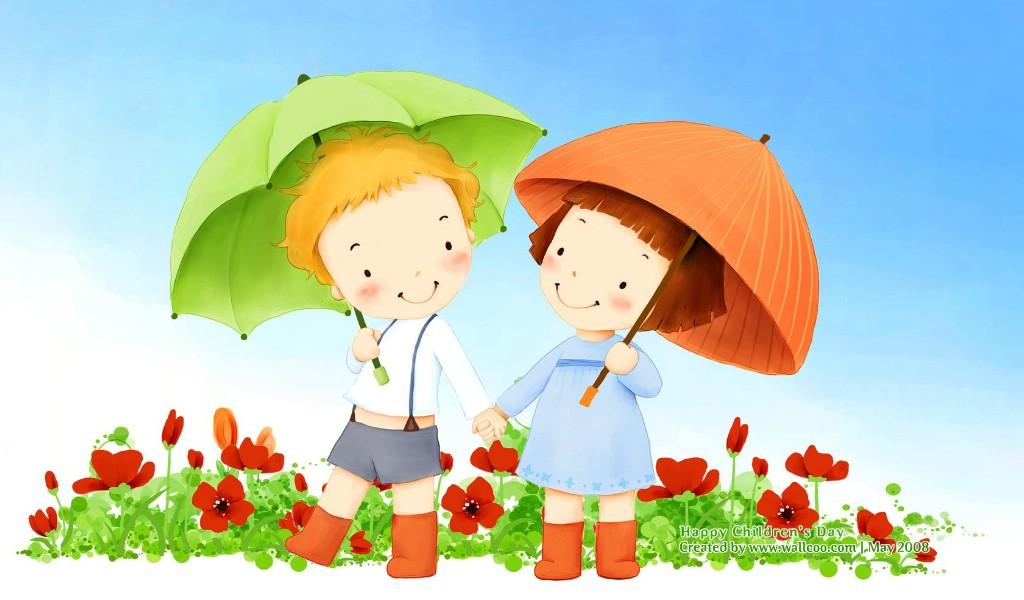 节可爱儿童插画壁纸壁纸图片插画壁纸插画图片素材