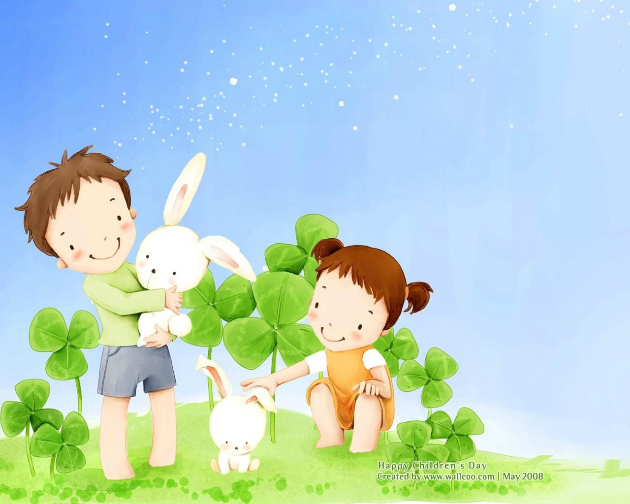 韩国插画儿童插画