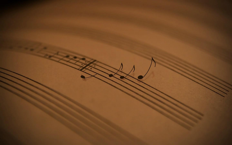 桌面上的二重奏谱子