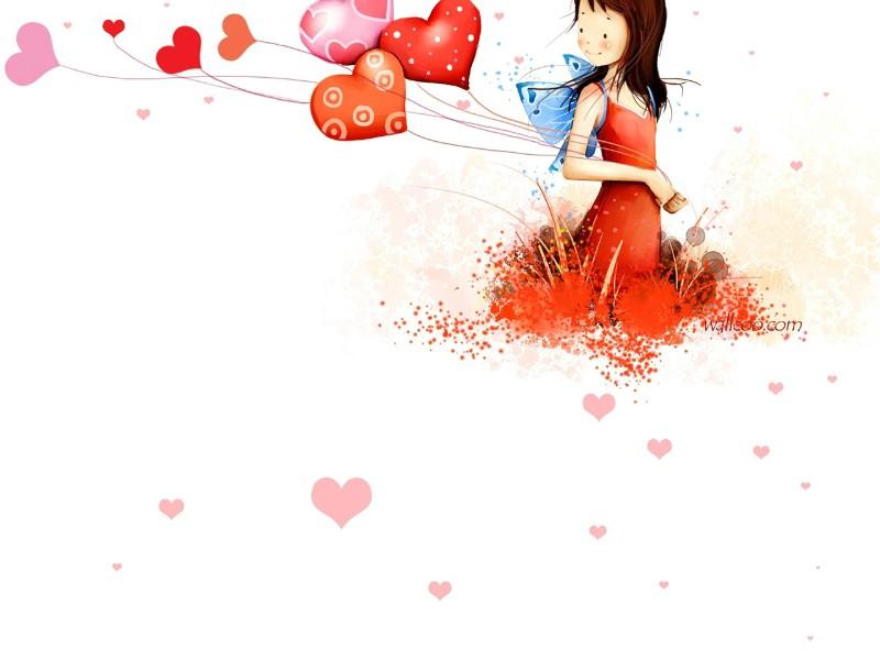 壁纸800×600韩国插画名家 webjong 甜美女孩插画三 webjong 清新可爱小女孩插画壁纸,韩国插画名家webjong 甜美女孩插画(三)壁纸图片-插画壁纸-插画图片素材-桌面壁纸