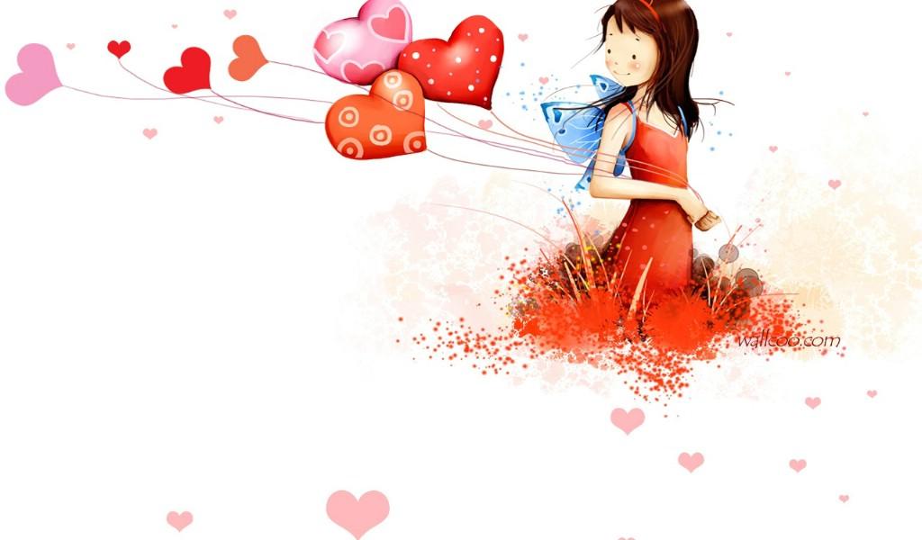 壁纸1024×600韩国插画名家 webjong 甜美女孩插画三 webjong 清新可爱小女孩插画壁纸,韩国插画名家webjong 甜美女孩插画(三)壁纸图片-插画壁纸-插画图片素材-桌面壁纸