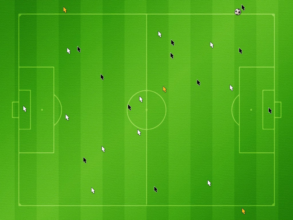 足球场 创意设计合成壁纸