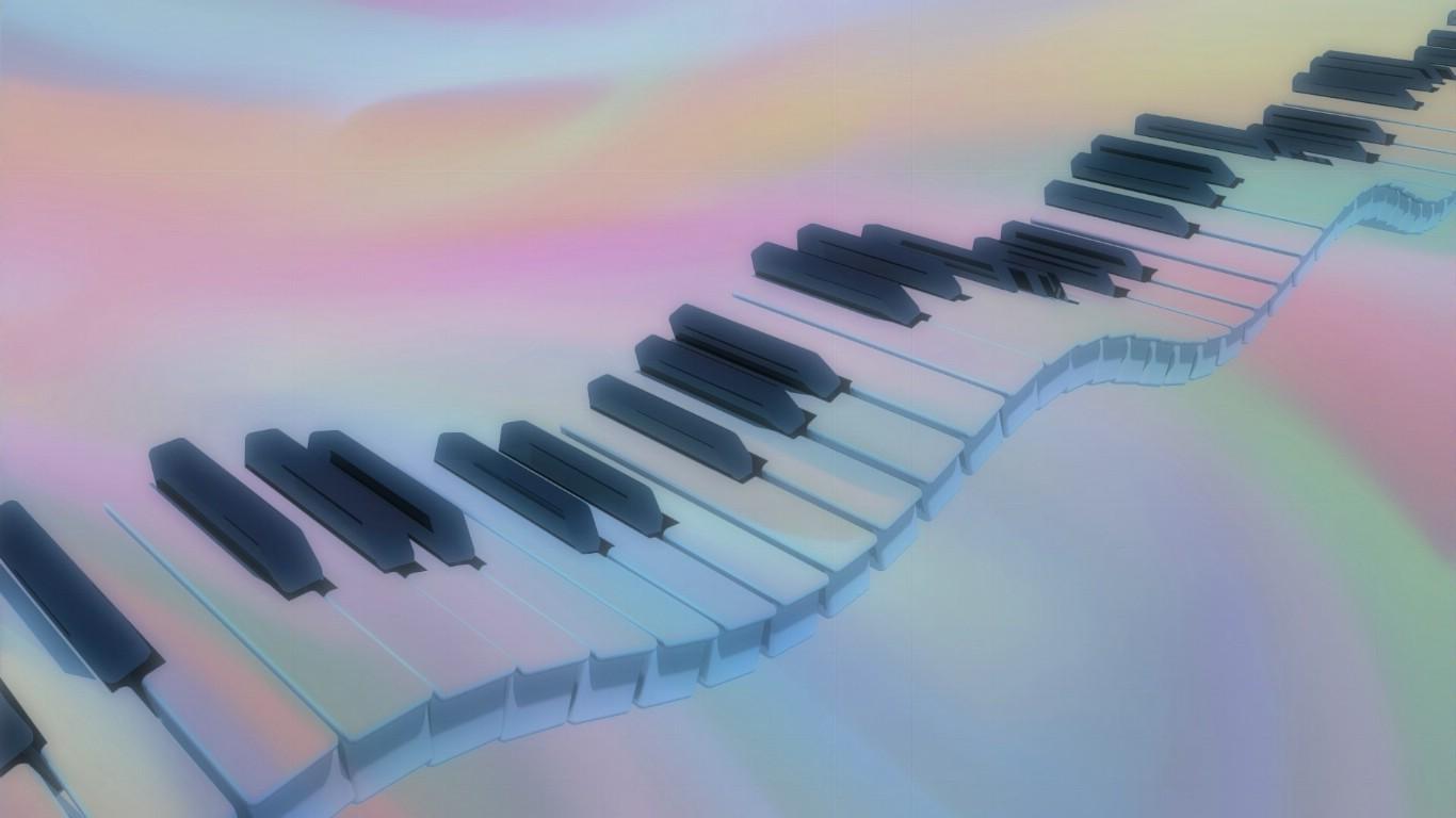 钢琴唯美意境壁纸_高清唯美钢琴桌面壁纸_钢琴谱分享