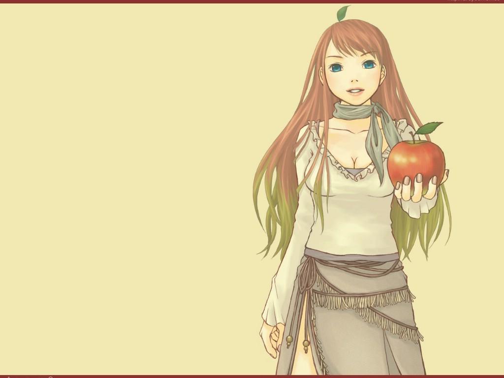 壁纸1024×768日本插画壁纸 红苹果 日本插画壁纸 红苹果Japanese Cartoon Illustration Red Apple Girl壁纸 日本插画壁纸红苹果壁纸图片插画壁纸插画图片素材桌面壁纸