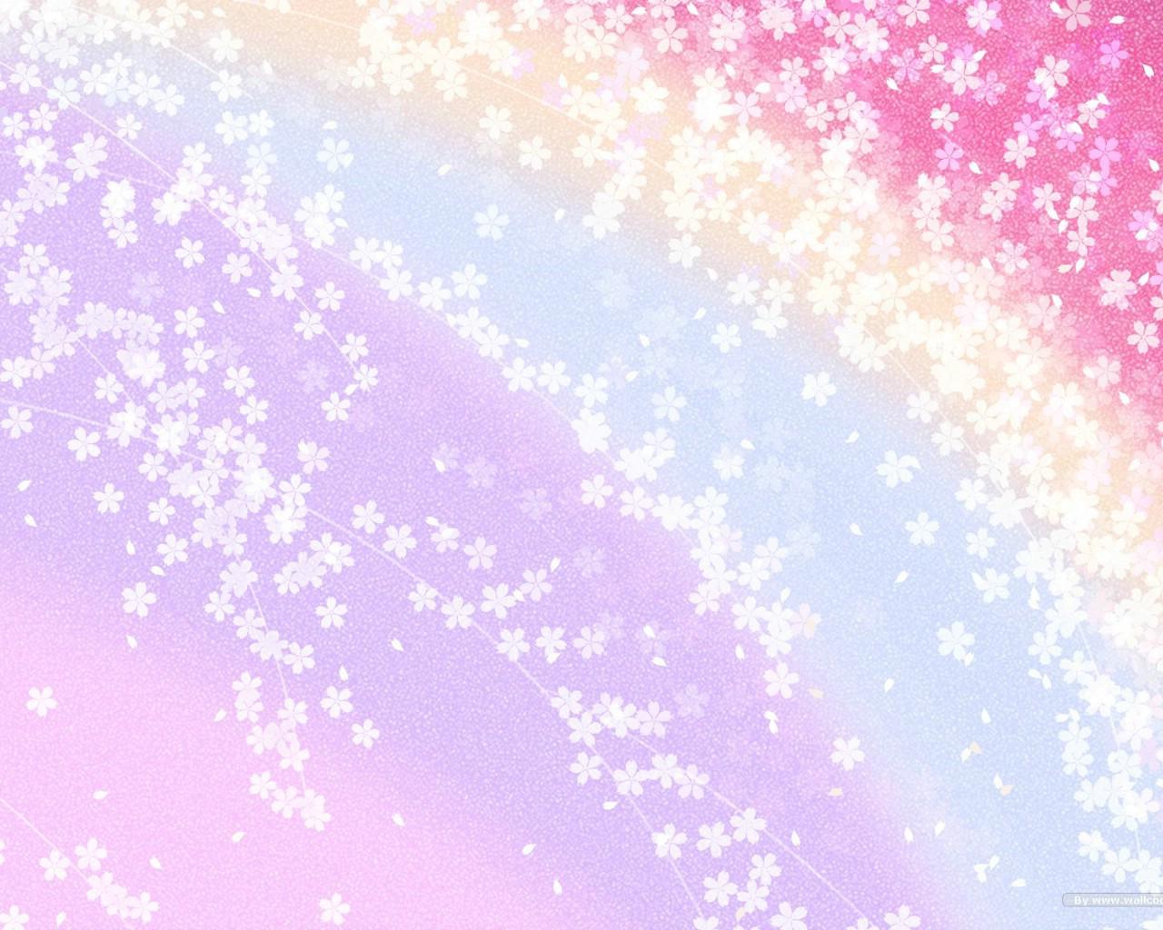 壁纸1280×1024日本风格色彩与