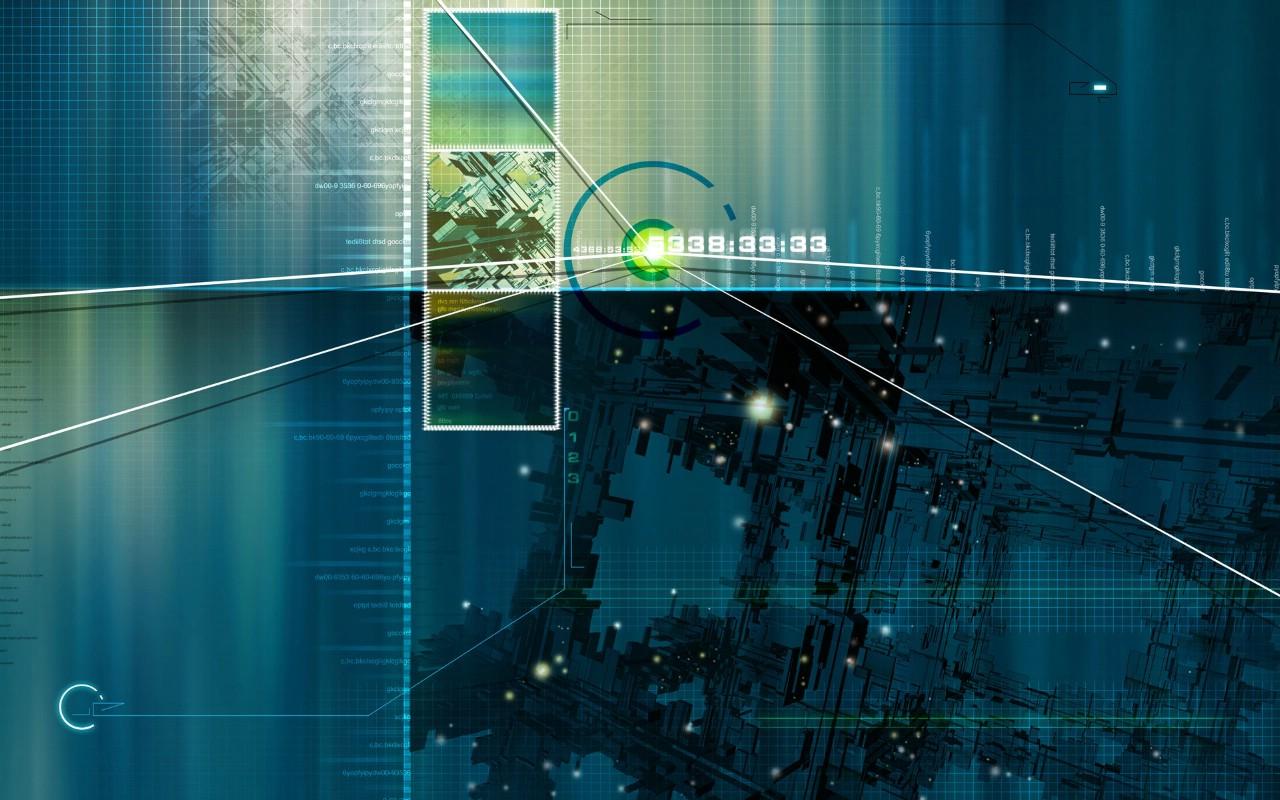 未来科技桌面壁纸下载