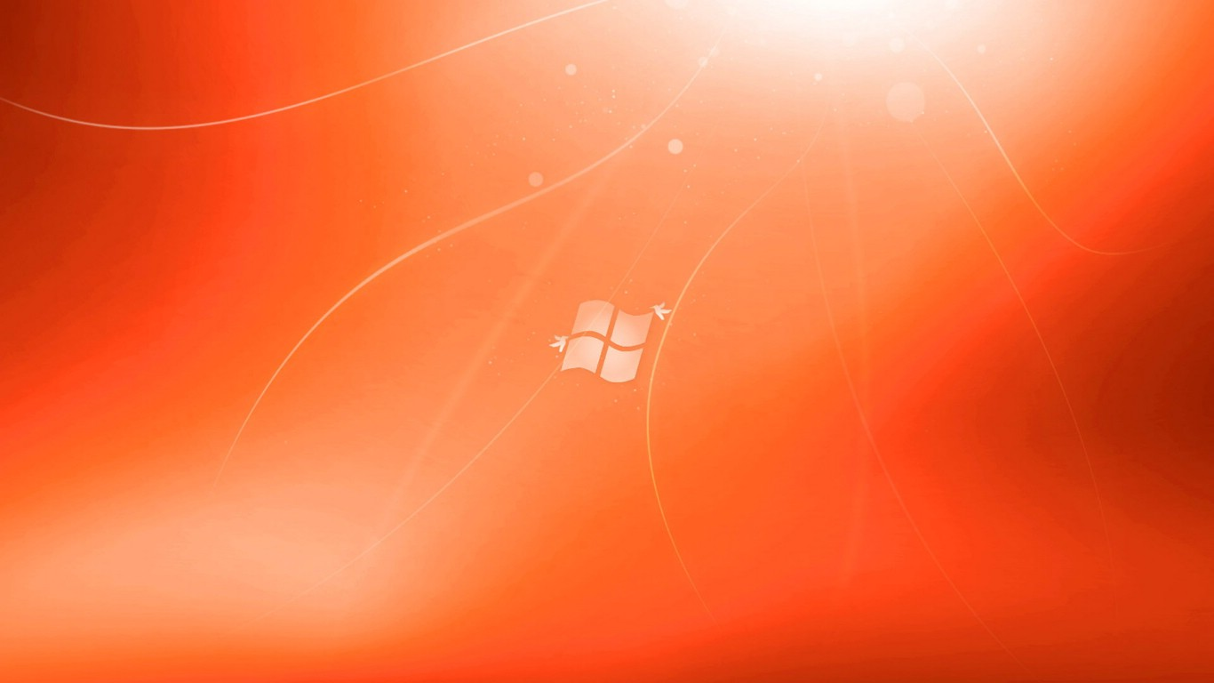 win7高清1366*768笔记本桌面壁纸