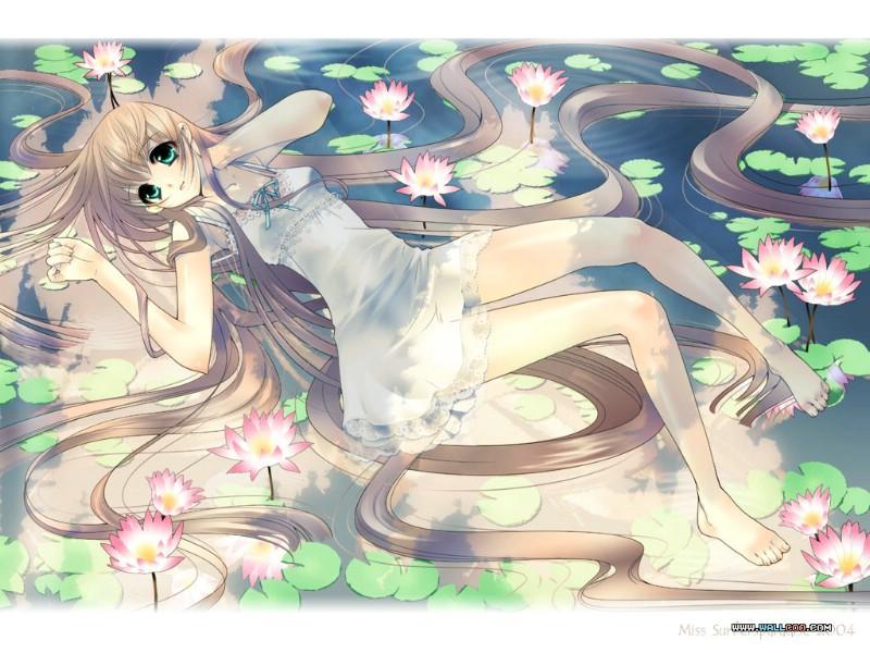 壁纸800×600日本动漫cg美少女壁纸desktop