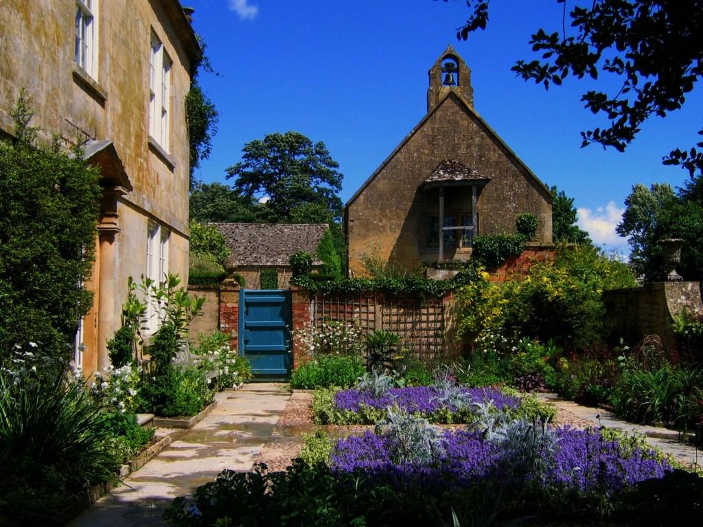 壁纸1024×768欧洲风格园林花园图片壁纸