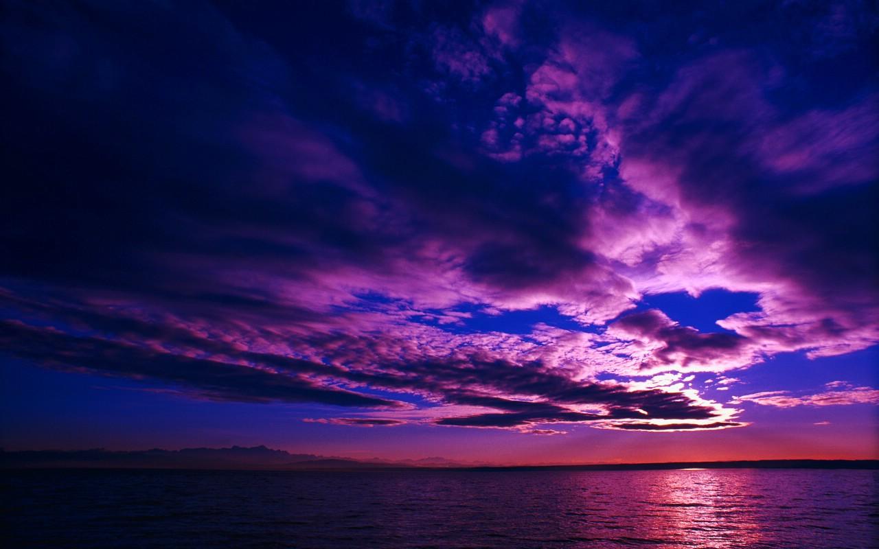 云的色彩 天空的画布壁纸图片壁纸壁纸 大自然纯朴之美壁纸图片风景
