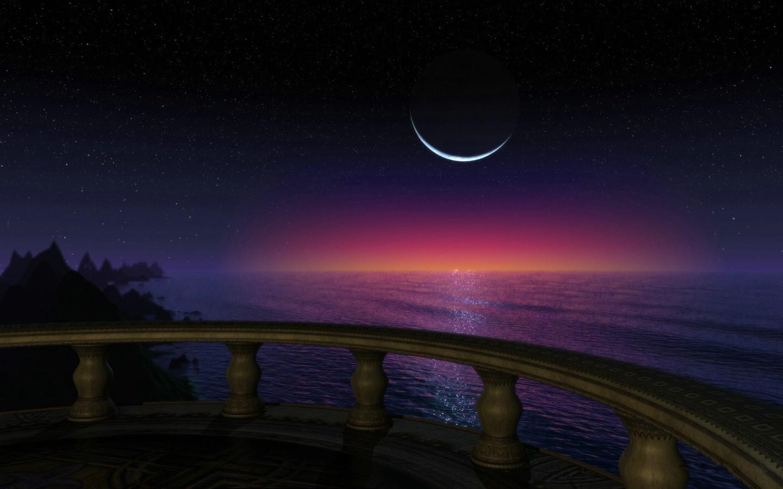 3d nature wallpaper moon - photo #9