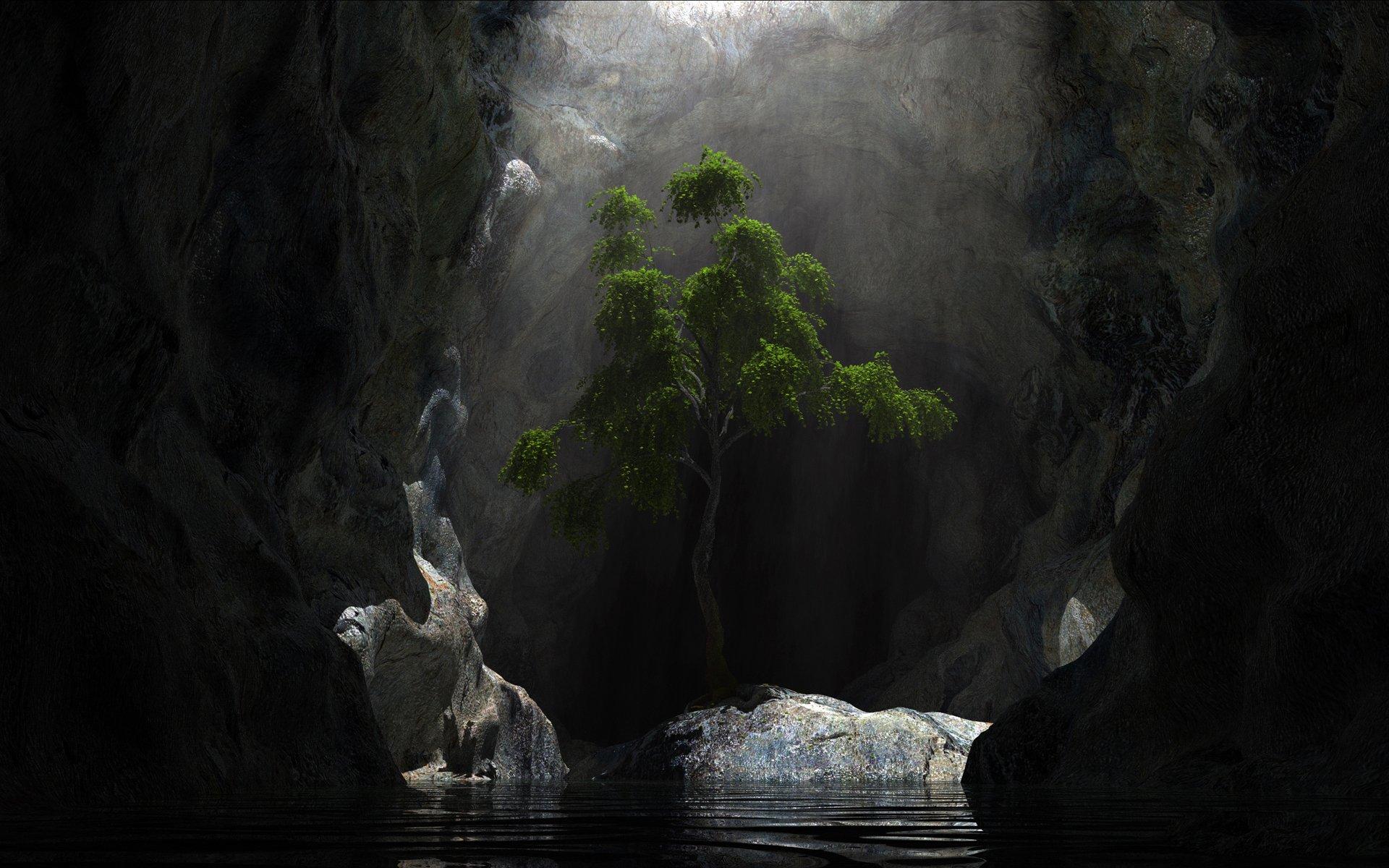 电脑3d风景动态壁纸