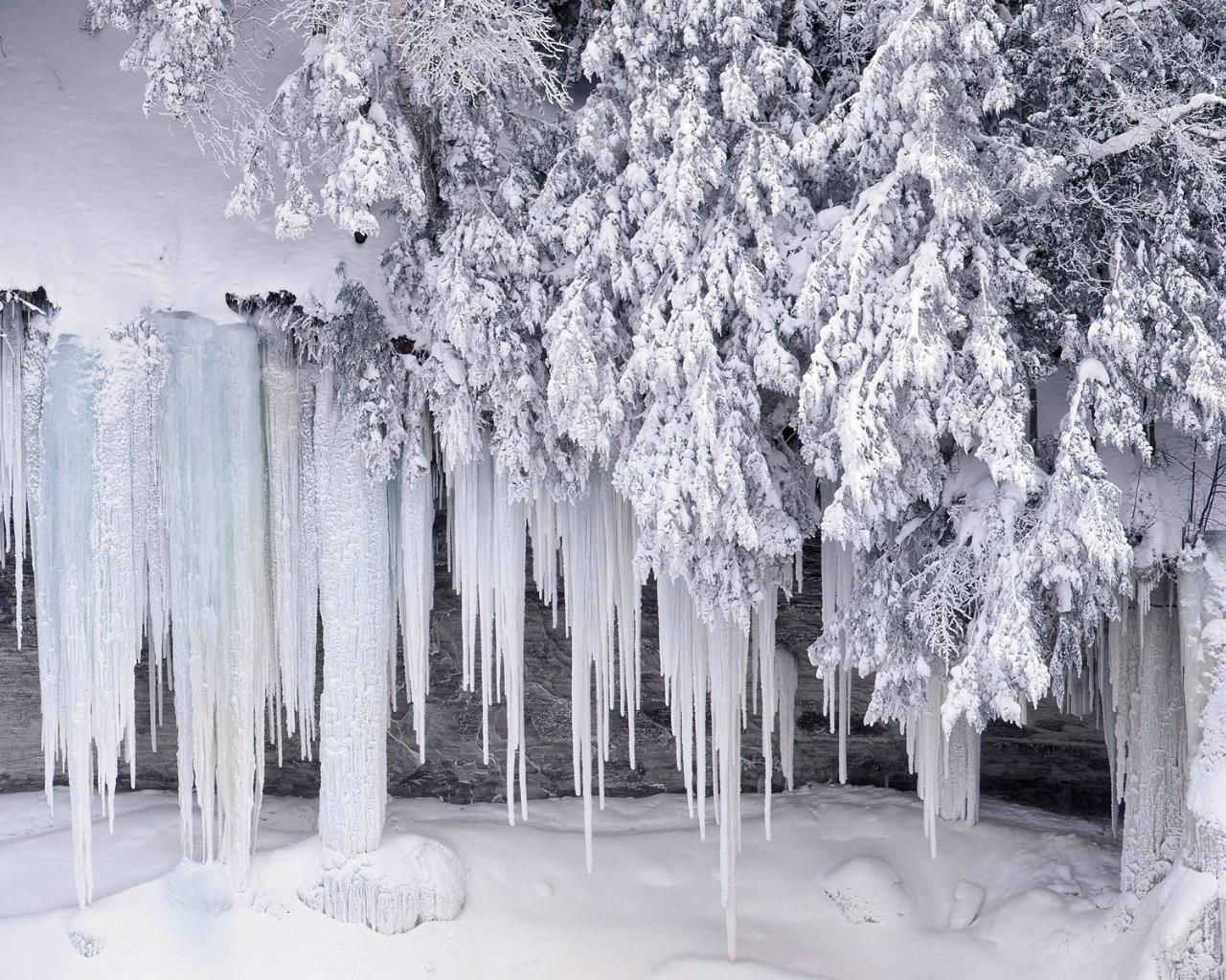 风景图片冬天雪花分享_风景图片冬天雪花图片下载
