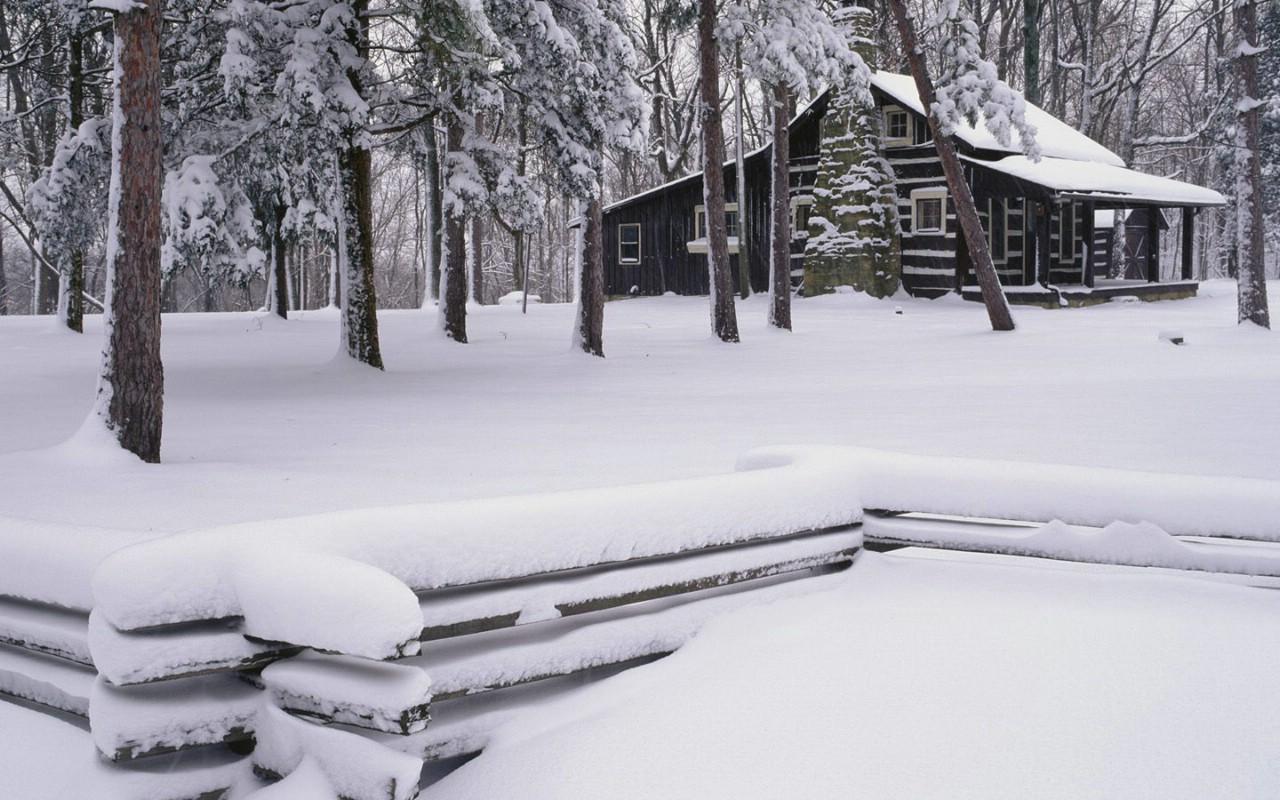 壁纸1280 215 800美丽雪景 雪景图片 美丽冬天雪景壁纸壁纸 浪漫雪景壁纸壁纸图片 风景壁纸 风景图片素材 桌面壁纸