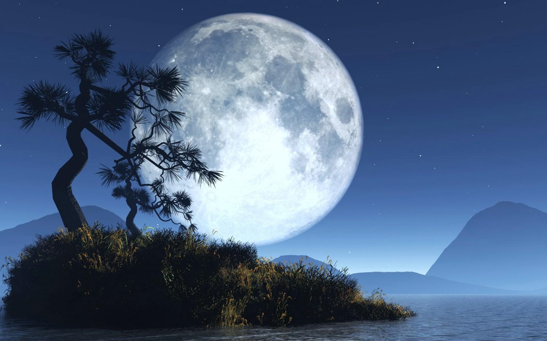 5种尺寸 电脑PS风景壁纸 Desktop wallpaper of Fantasy Landscapes -