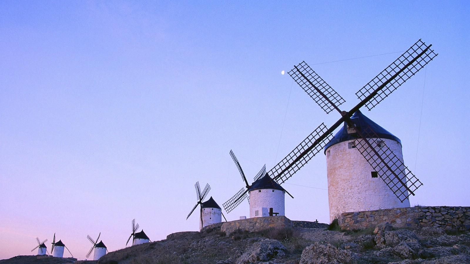 西班牙 风车