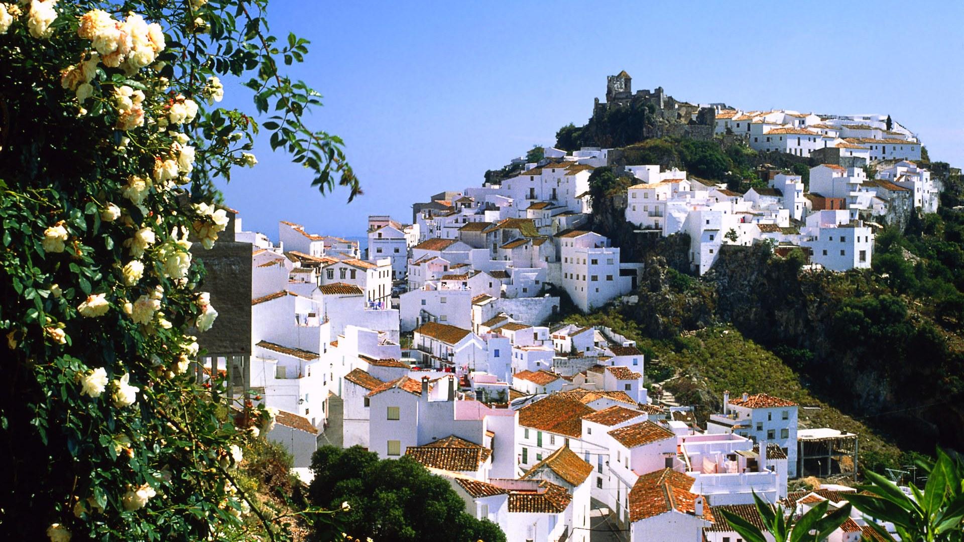 西班牙风景照壁纸