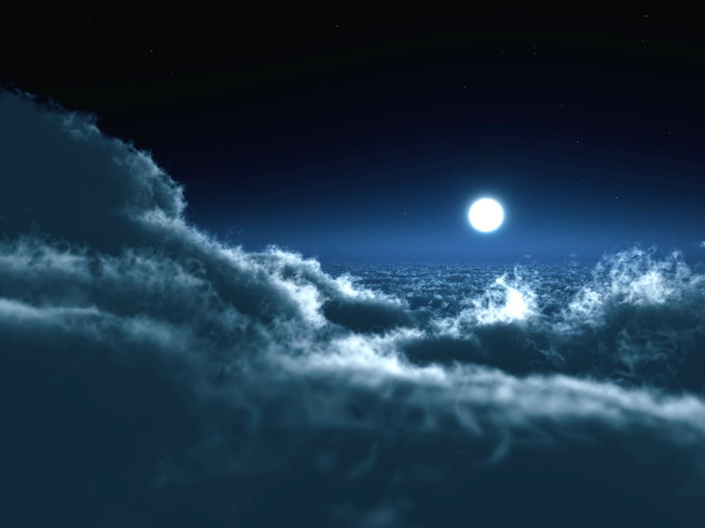 唯美风景壁纸-11 皎洁的月光