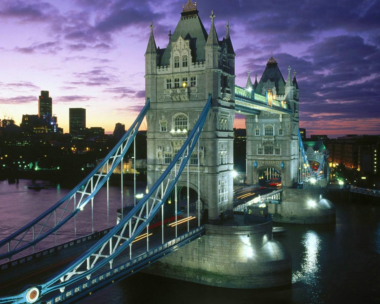 伦敦塔桥桌面壁纸壁纸