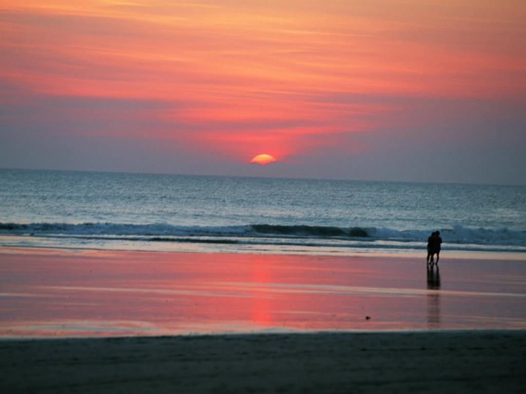 风景壁纸 夏日休闲与阳光海滩