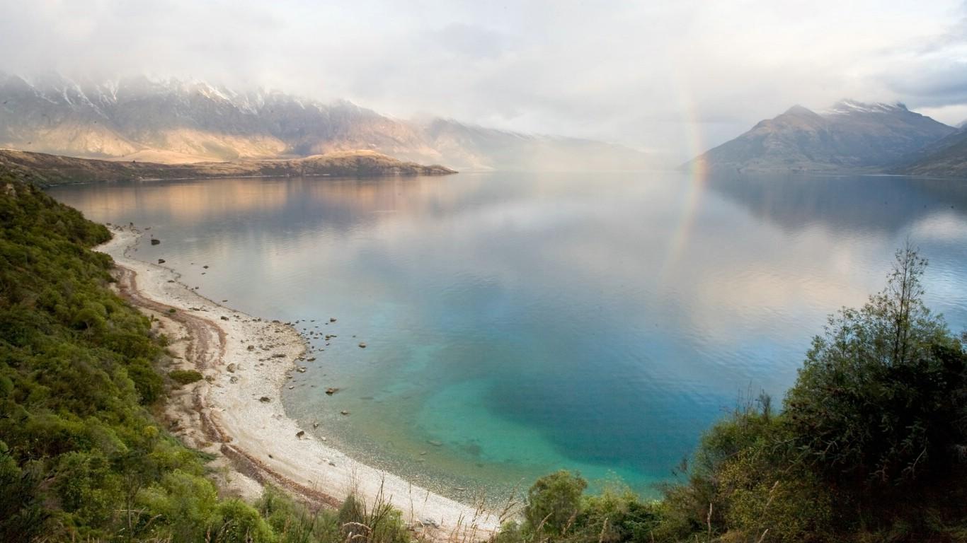 山水1366x768山水风景3d山水风景图片大全