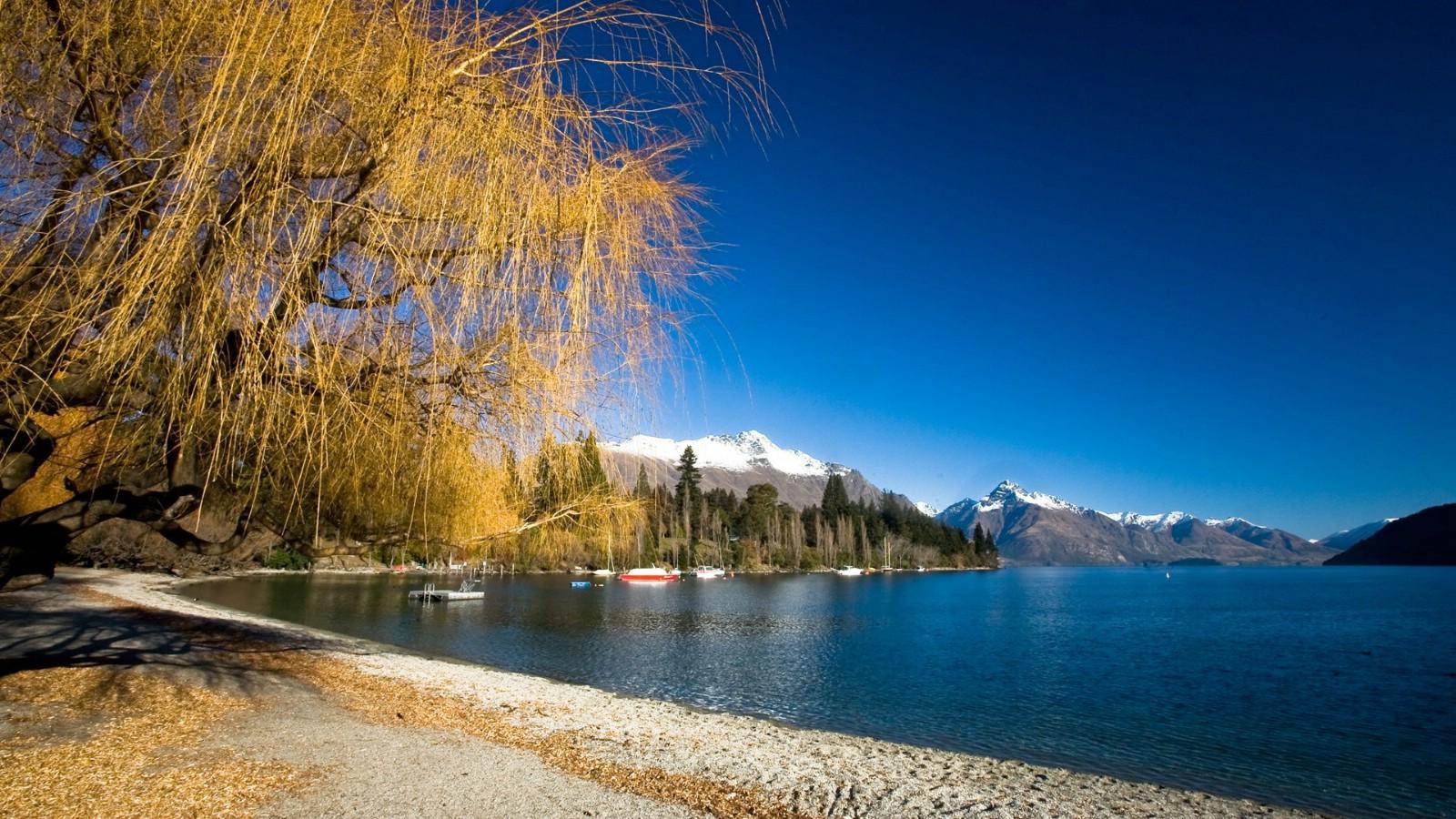 Zealand壁纸,新西兰的山水如画壁纸壁纸图片