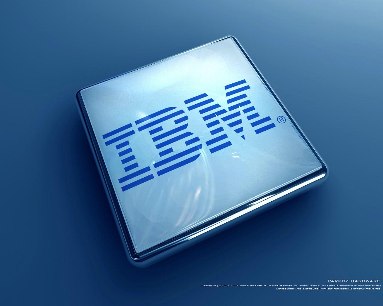 logo ibm壁纸