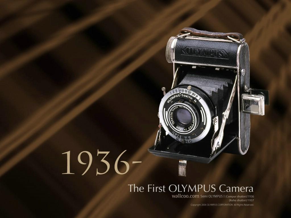 壁纸1024×7681936年 第一部奥林巴斯相机 The First Olympus Camera Semi Olympus I壁纸 Olympus 奥林巴斯70年经典相机壁纸上辑壁纸图片广告壁纸广告图片素材桌面壁纸