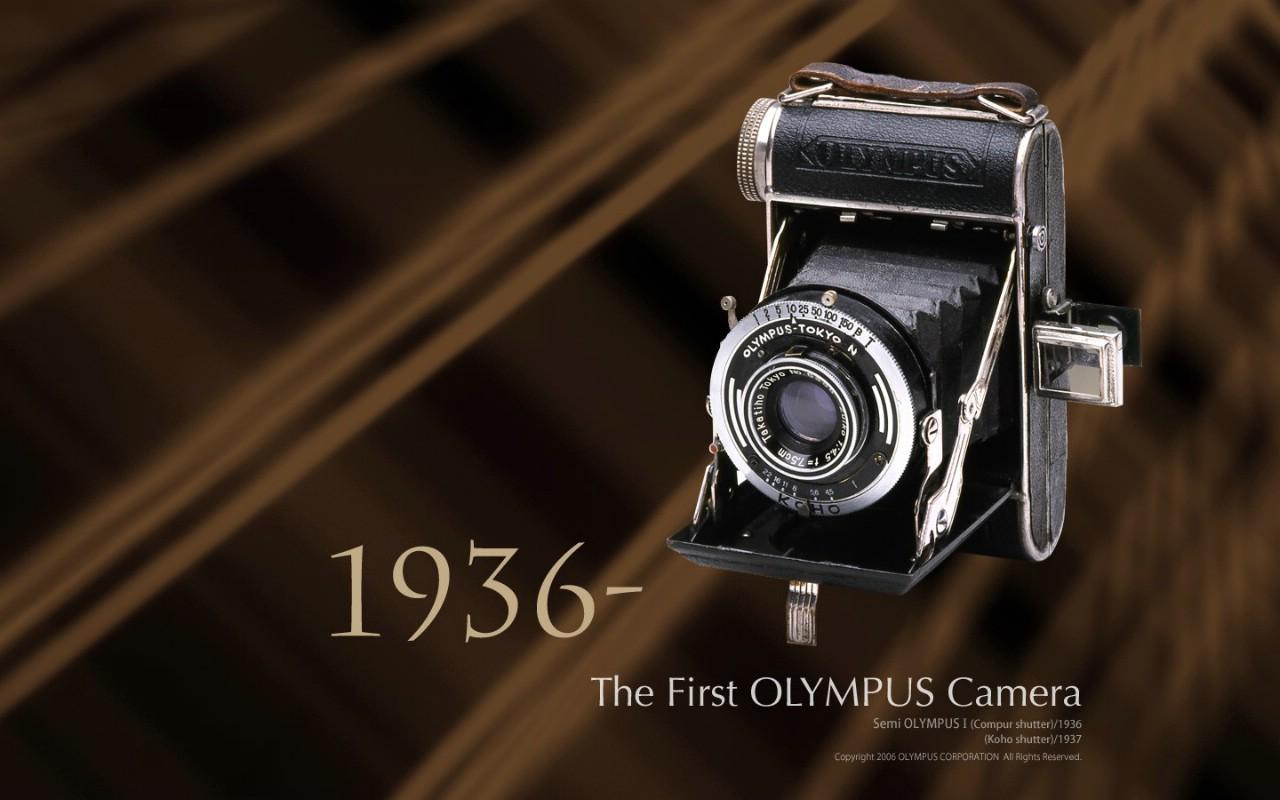壁纸1280×8001936年 第一部奥林巴斯相机 The First Olympus Camera Semi Olympus I壁纸 Olympus 奥林巴斯70年经典相机壁纸上辑壁纸图片广告壁纸广告图片素材桌面壁纸