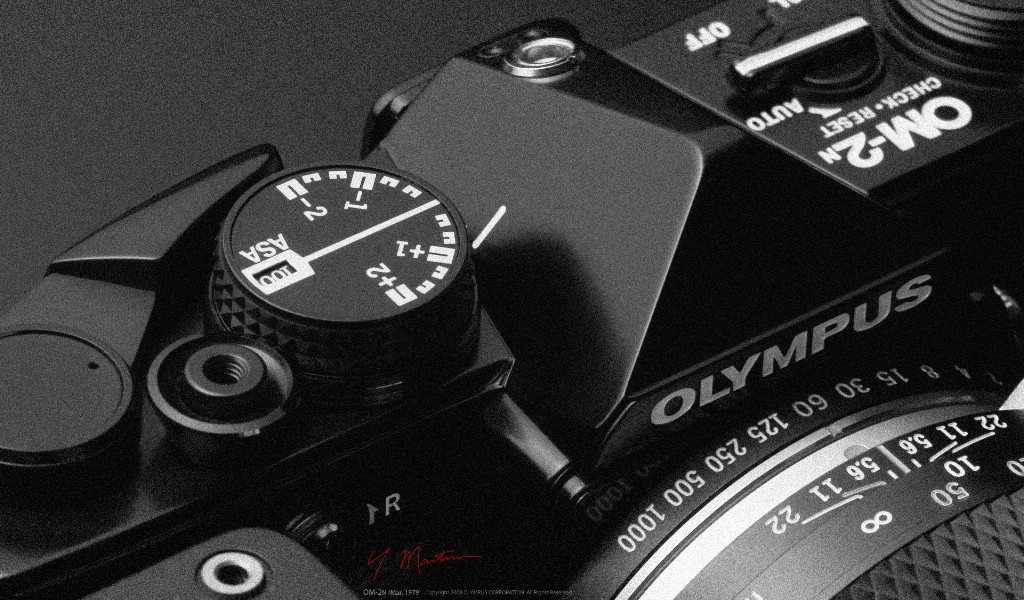壁纸1024×600Olympus 奥林巴斯相机纪念壁纸 三 1979 奥林巴斯OM 2N 经典相机1979 Olympus OM 2N Camera壁纸 Olympus 奥林巴斯相机三壁纸图片广告壁纸广告图片素材桌面壁纸