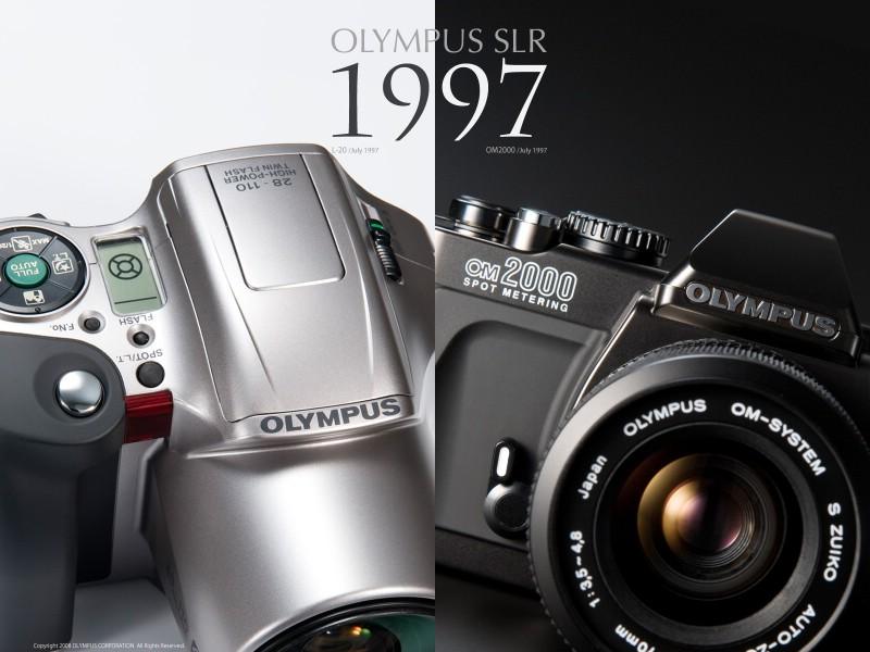 壁纸800×600Olympus 奥林巴斯相机纪念壁纸 三 奥林巴斯单反相机 1997 Oplympus SLR Cameras壁纸 Olympus 奥林巴斯相机三壁纸图片广告壁纸广告图片素材桌面壁纸