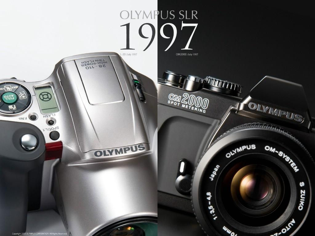 壁纸1024×768Olympus 奥林巴斯相机纪念壁纸 三 奥林巴斯单反相机 1997 Oplympus SLR Cameras壁纸 Olympus 奥林巴斯相机三壁纸图片广告壁纸广告图片素材桌面壁纸