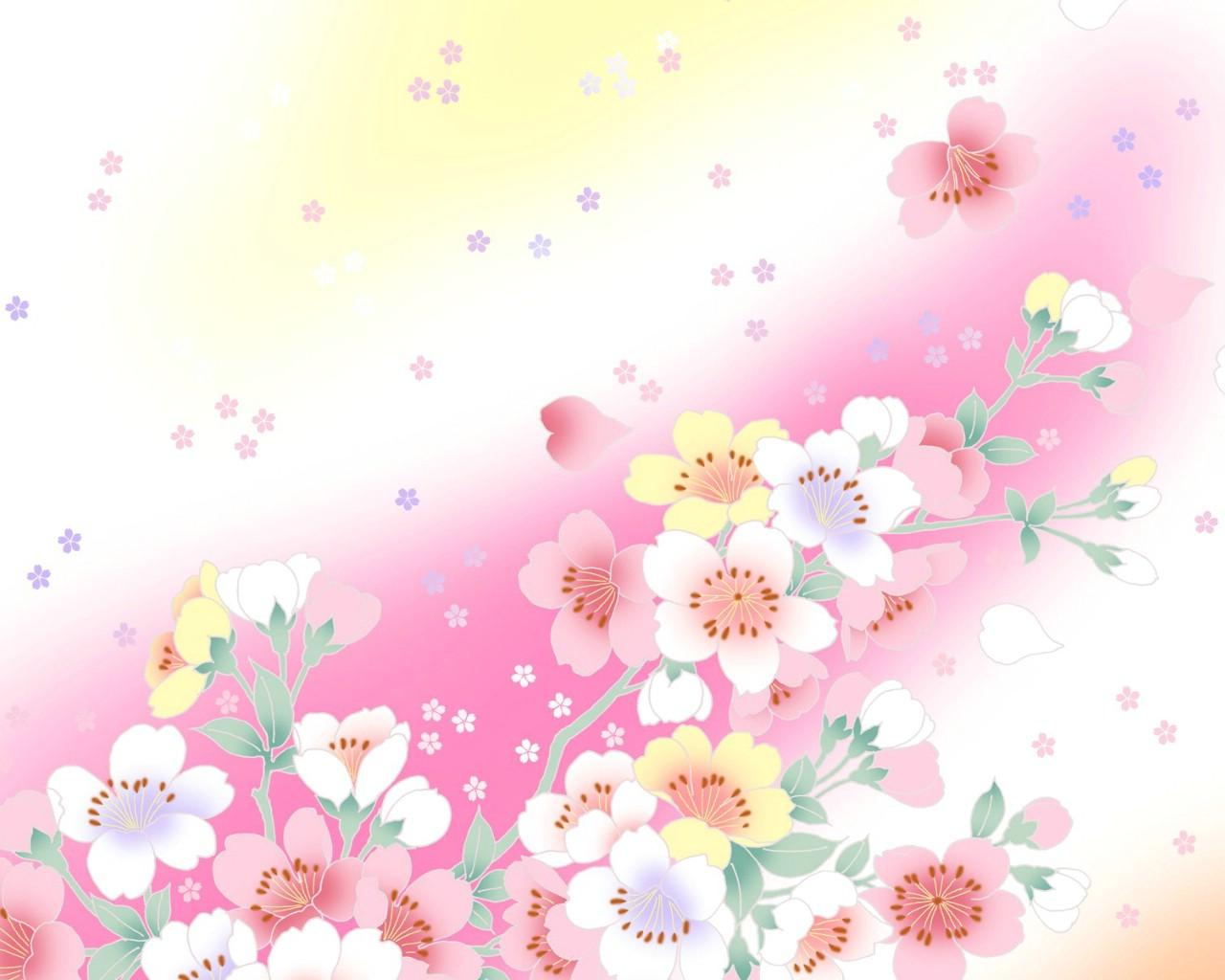 小碎花桌面壁纸 复古小清新碎花壁纸