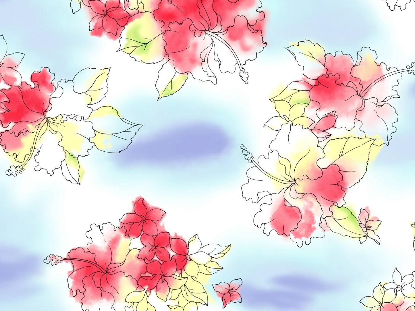 壁纸1400×1050甜美系 美丽花碎花图案设计壁纸 美丽碎花布 之 粉红甜美系壁纸图片花卉壁纸花卉图片素材桌面壁纸