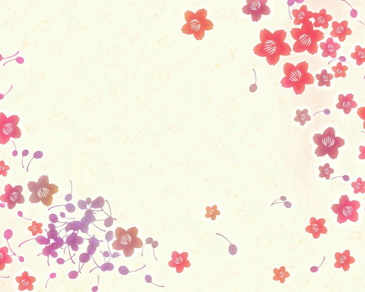 电脑壁纸小碎花大图唯美小碎花qq皮肤大图小碎花