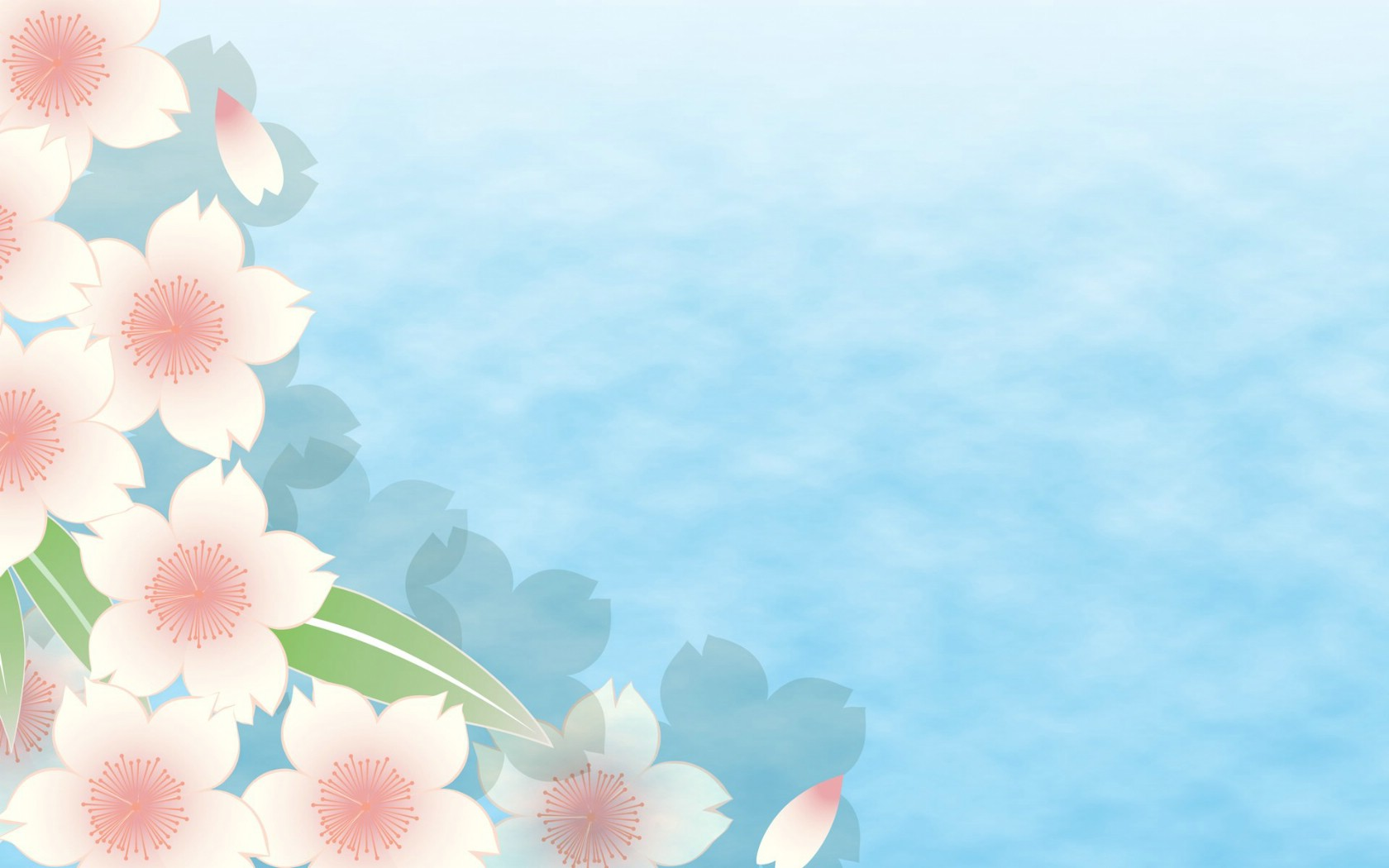 壁纸1680×1050淡雅系 花卉背景图案设计壁纸 美丽碎花布 之 简洁淡雅系壁纸图片花卉壁纸花卉图片素材桌面壁纸