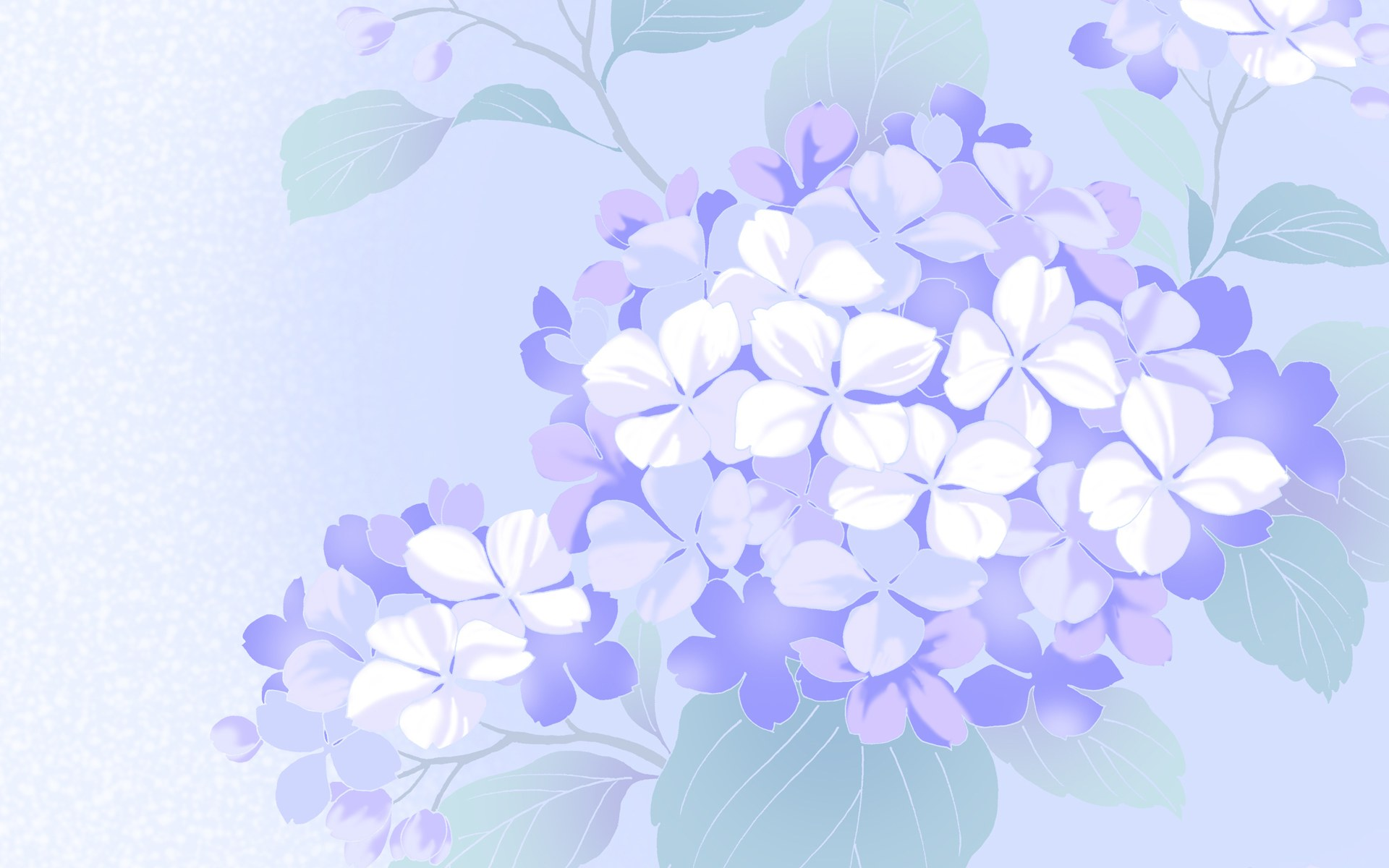 simple blue flower wallpapers - photo #43