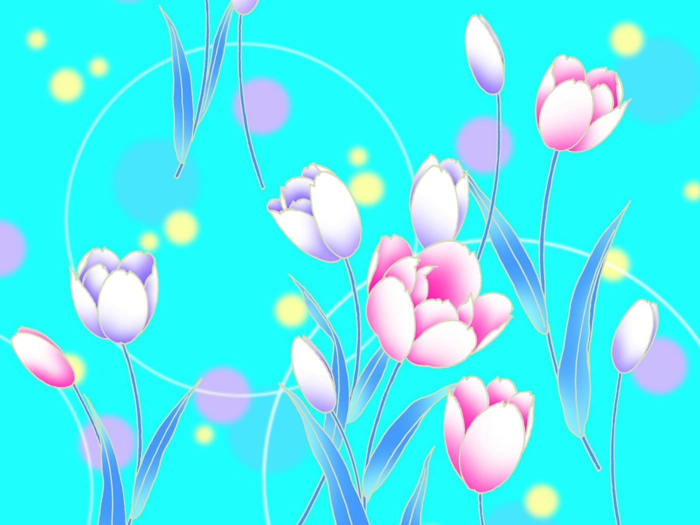 壁纸1400×1050淡雅系 花卉背景图案设计壁纸 美丽碎花布 之 简洁淡雅系壁纸图片花卉壁纸花卉图片素材桌面壁纸