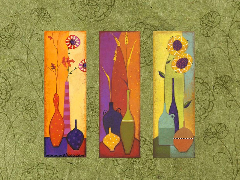 壁纸800×600艺术花卉壁纸 抽象花卉插画壁纸壁纸 艺术与抽象花卉壁纸壁纸图片花卉壁纸花卉图片素材桌面壁纸