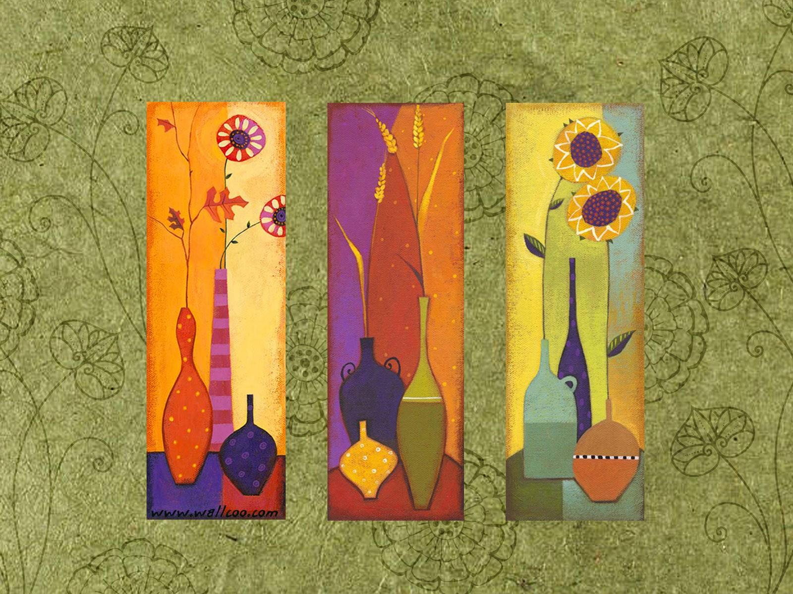 艺术与抽象花卉壁纸壁纸图片 花卉壁纸 花卉图片素材 -1200艺术花卉