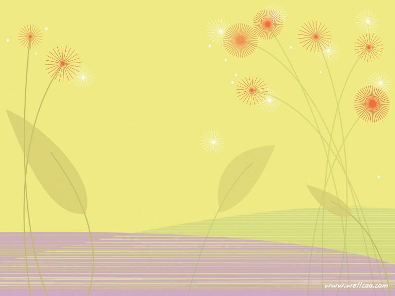 壁纸800×600抽象花卉图案设计 抽象花卉插画壁纸壁纸 艺术与抽象花卉壁纸壁纸图片花卉壁纸花卉图片素材桌面壁纸