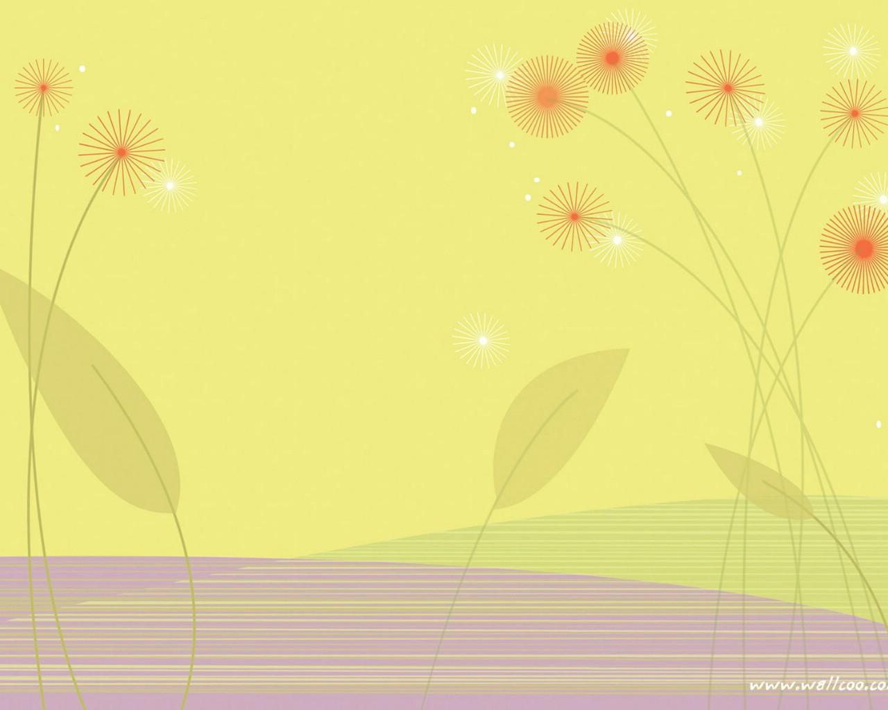 壁纸1280×1024抽象花卉图案设计 抽象花卉插画壁纸壁纸 艺术与抽象花卉壁纸壁纸图片花卉壁纸花卉图片素材桌面壁纸