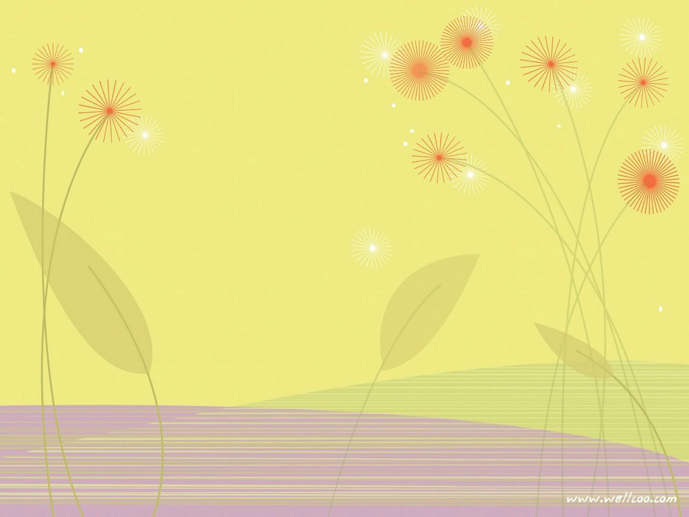 壁纸1400×1050抽象花卉图案设计 抽象花卉插画壁纸壁纸 艺术与抽象花卉壁纸壁纸图片花卉壁纸花卉图片素材桌面壁纸