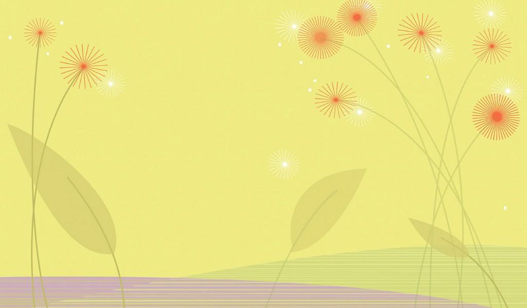 壁纸1024×600抽象花卉图案设计 抽象花卉插画壁纸壁纸 艺术与抽象花卉壁纸壁纸图片花卉壁纸花卉图片素材桌面壁纸