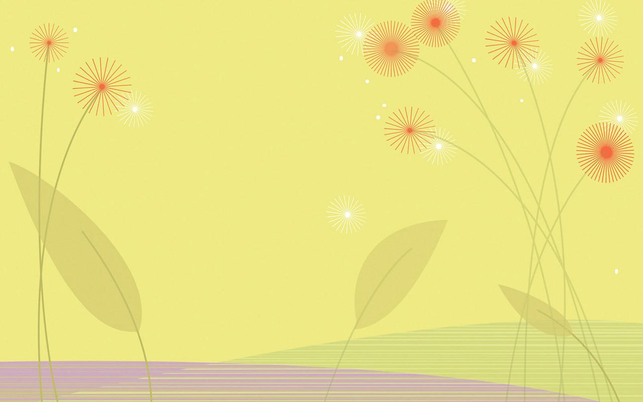 壁纸1280×800抽象花卉图案设计 抽象花卉插画壁纸壁纸 艺术与抽象花卉壁纸壁纸图片花卉壁纸花卉图片素材桌面壁纸