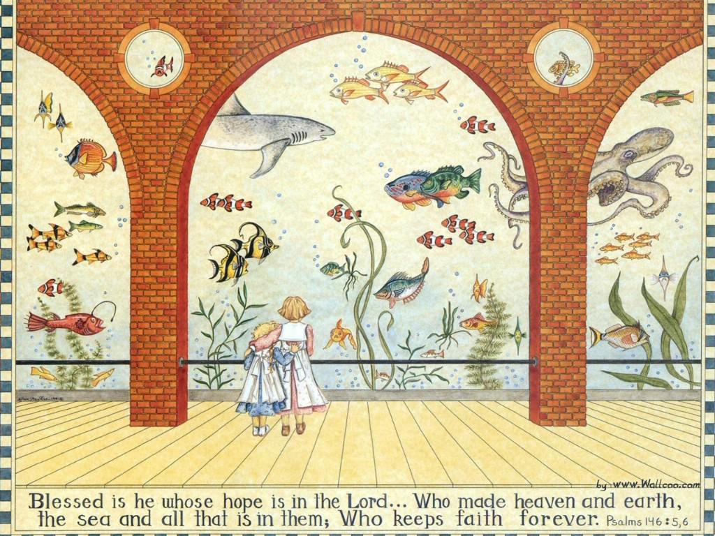 国外儿童图书绘本壁纸