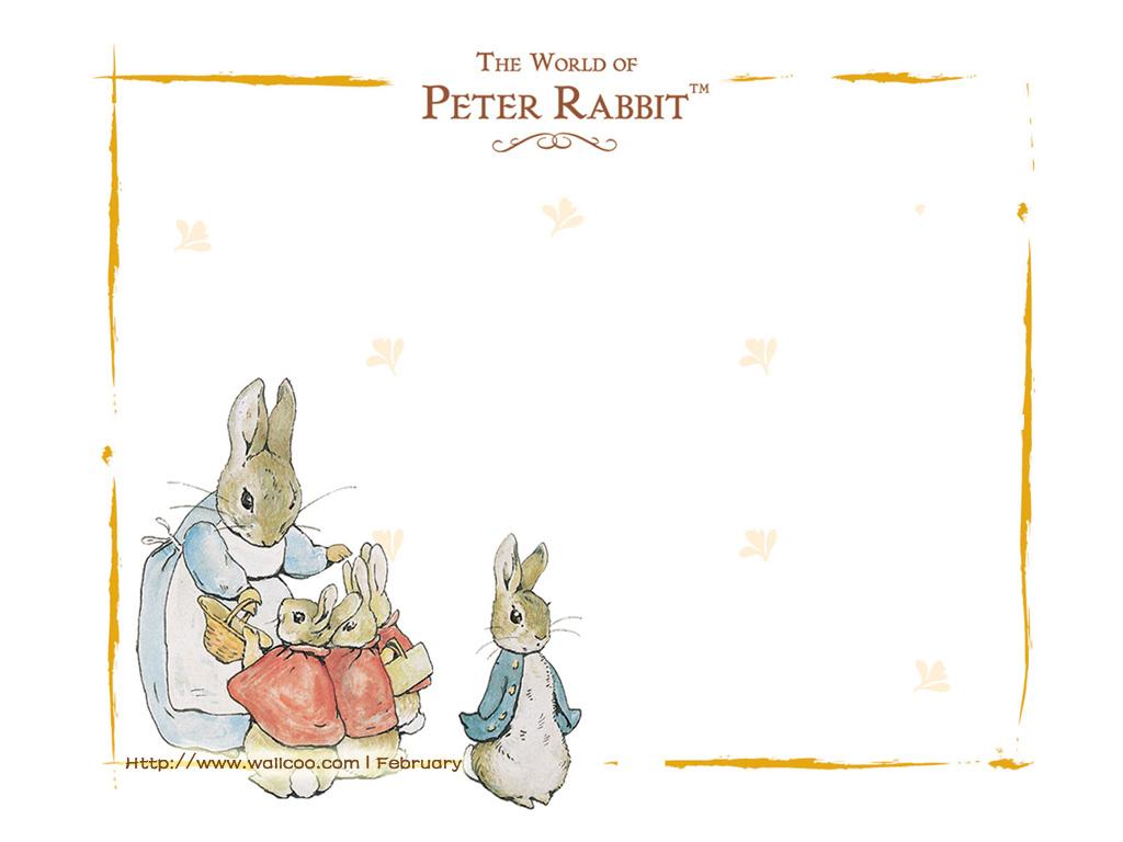 超萌卡通兔子简笔画