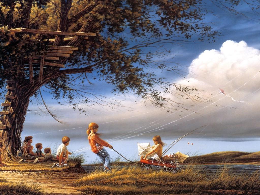 (美)Terry Redlin经典野外风光画 - 香儿 - xianger