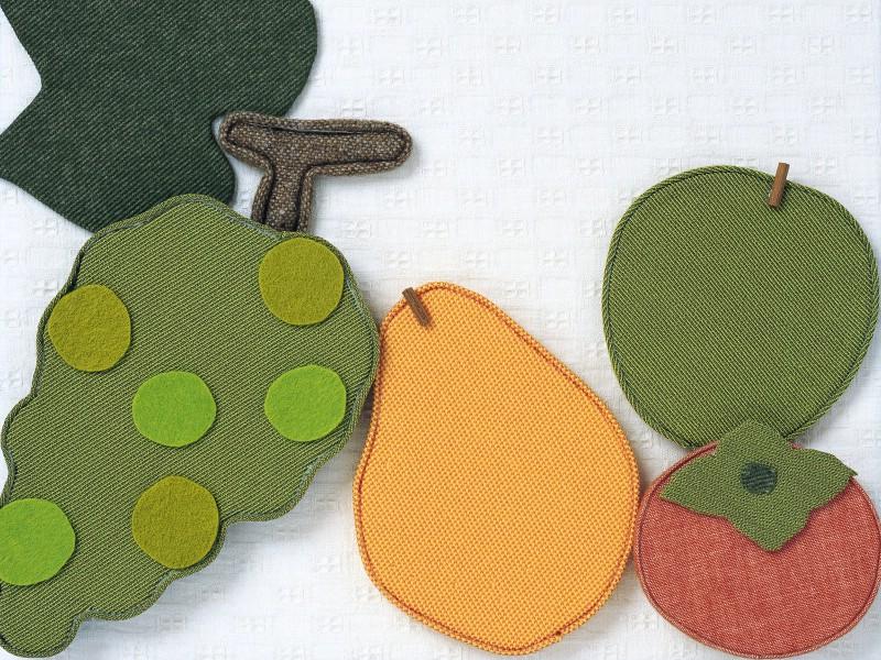 日本手工布艺贴画图片壁纸